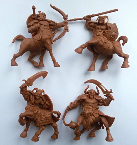 Miniatures Russian - Centaurs 54 mm 1/32 - 4 Fantasy Figures Tehnolog Fantasy Battles Russian Toy Soldiers