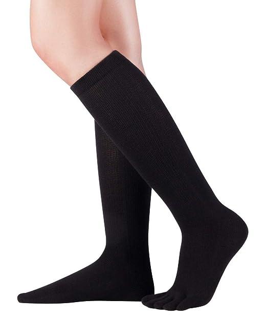 Knitido Calcetines de dedos hasta la rodilla Cotton and Merino, calcetines hasta la rodilla con dedos: Amazon.es: Ropa y accesorios
