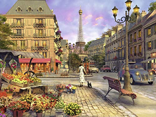 Ravensburger Vintage Paris 1500 Piece Jigsaw Puzzle for Adults – Softclick Technology Means Pieces Fit Together Perfectly from Ravensburger