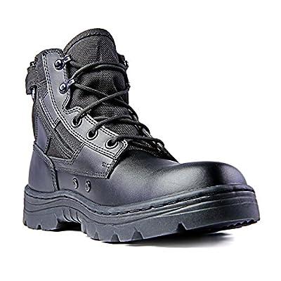Ridge Footwear Men's Dura-Max Mid Zipper Work Boot: Shoes