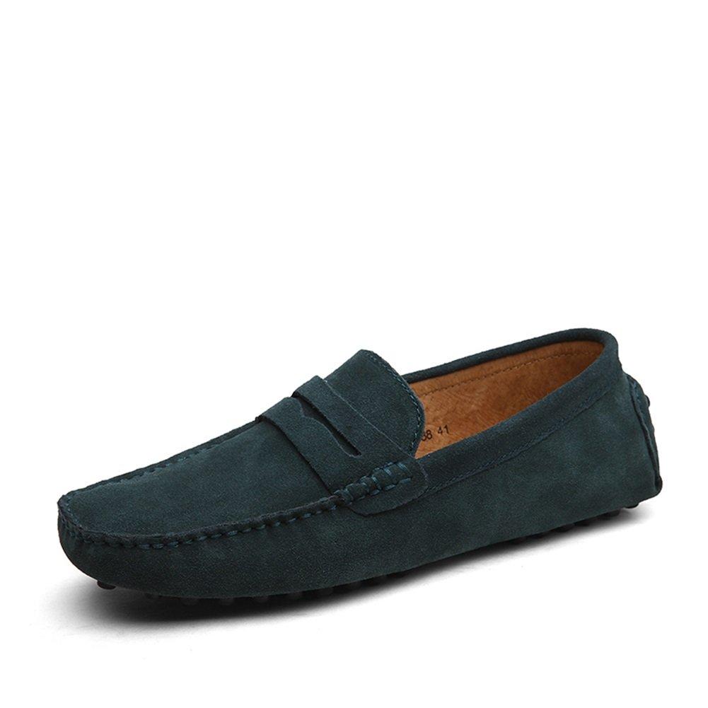 XUE Herren Herren Herren Schuhe Wildleder Formelle Schuhe Leichte Sohlen Loafers & Slip-Ons für Casual Office & Karriere Outdoor Marineblau Grün Khaki Königsblau 16ed77