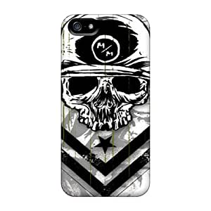 Hot YHR3660Ctpy Metal Mulisha Tpu Case Cover Compatible With Iphone 5/5s