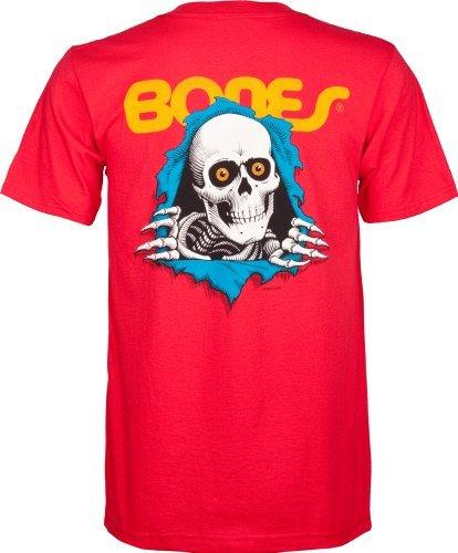 Powell-Peralta Ripper Red T-Shirt, XX-Large