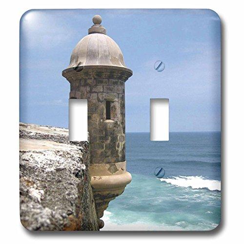 Danita Delimont - Fortifications - Puerto Rico, San Juan, Fort San Felipe del Morro-CA27 MGL0003 - Miva Stock - Light Switch Covers - double toggle switch -