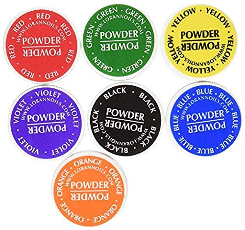 LorAnn Food Coloring Powder 1/2 Ounce, Set of 7 Colors