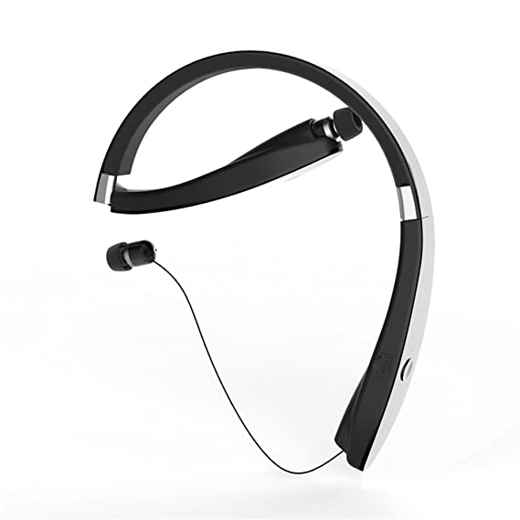 5d5688e751b Image Unavailable. Image not available for. Color: SX-991 Sports Bluetooth  headphones With Microphone Anti-lost Retractable Foldable ...