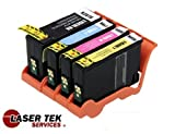 Lexmark Compatible Replacement 150XL / 14N1614 14N1615 14N1616 14N1618 High Yield Ink Cartridges 4 Pack Set (1BK, 1C, 1M, 1Y) for the Lexmark All-In-One Pro715, Pro915, S315, S415, S515 ® Laser Tek Services, Office Central