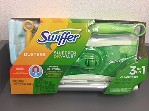 Swiffer Sweeper 3 in 1 Mop and Broom Floor Cleaner 1 Sweeper