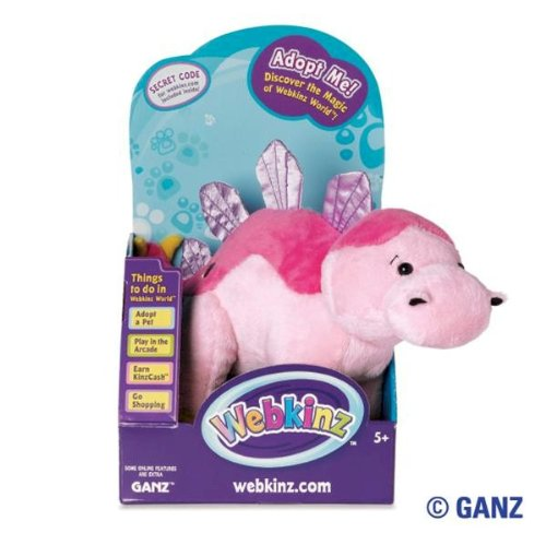 Webkinz Bubblegumasaurus in Box with Trading Cards