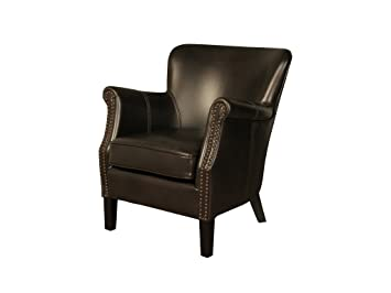 The One Henley Moderne Fauteuil En Cuir Cuir Air Chaise De