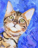 """Bengal Cat Art Print 