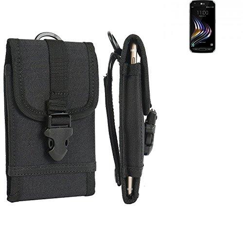 bolsa del cinturón / funda para LG Electronics X Venture, negro   caja del teléfono cubierta protectora bolso - K-S-Trade (TM)