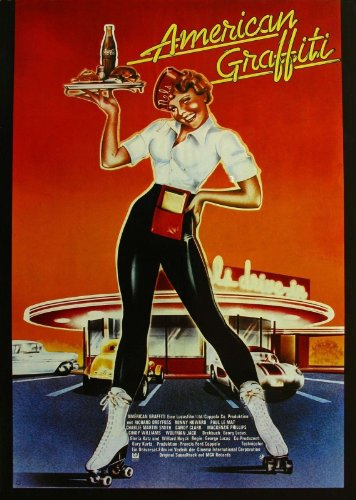 American Graffiti (1973) Movie Poster 24x36