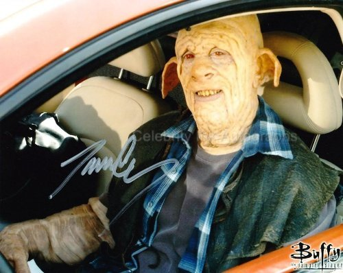 JAMES C. LEARY as Clem - Buffy The Vampire Slayer Genuine Autograph from Celebrity Ink