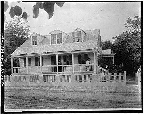 Photo: Captain Francis Watlington House,322 Duval Street,Key West,Monroe - Street Of Duval West Map Key
