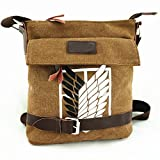 """Shingeki No Kyojin"" investigation army corps shoulder bag.Cosplay"
