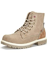 Waterproof Hiking Boots Women - Ladies Combat Work Boots, Best Choice for Walking and Casual