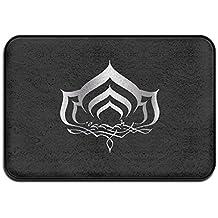 Warframe Logo 3 Platinum Style Floormats