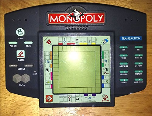 Talking Monopoly Electronic Hand Held LCD Game