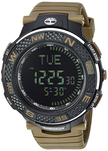 Timberland Men's TBL15027XPB02PB MENDON Digital Display Analog Quartz Green Watch