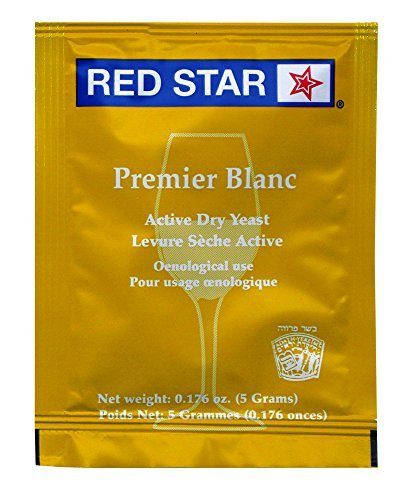 Cider Fruit Juice - Red Star Red Star Premier Blanc Champagne Yeast (Pack of 10)
