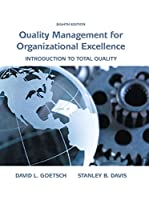 Quality Management for Organizational Excellence, 8th Edition Front Cover