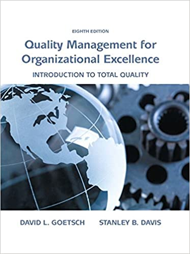Amazon quality management for organizational excellence quality management for organizational excellence introduction to total quality 8th edition kindle edition fandeluxe Choice Image
