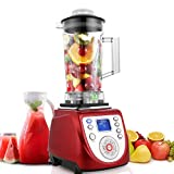 Smoothie Blender,1800-Watt Blender, 30500RPM High Speed Professional Countertop Blenders with Crushing Technology for Smoothies,Ice and Frozen Fruit