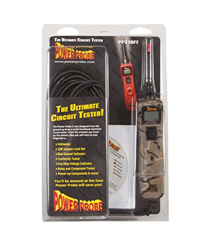 POWER PROBE IIIS w// Case /& Acc Fire Car Automotive Diagnostic Test Tool, Digital Volt Meter, ACDC Current Resistance Circuit Tester PP3S06AS