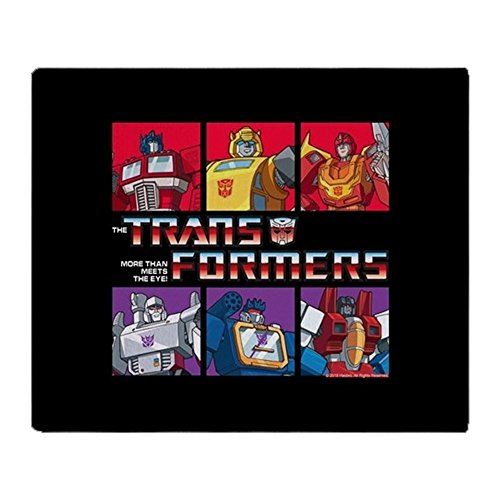 CafePress Transformers Autobots Decepticons Soft Fleece Throw Blanket, 50