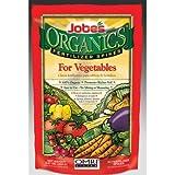 Jobe's 6028 50-Pack Organic Vegetable Fertilizer Food Spikes