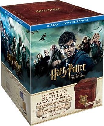 harry potter blue ray boks
