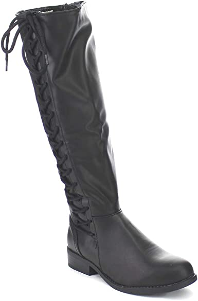 Bamboo Pilot-17 Riding Boots: Shoes
