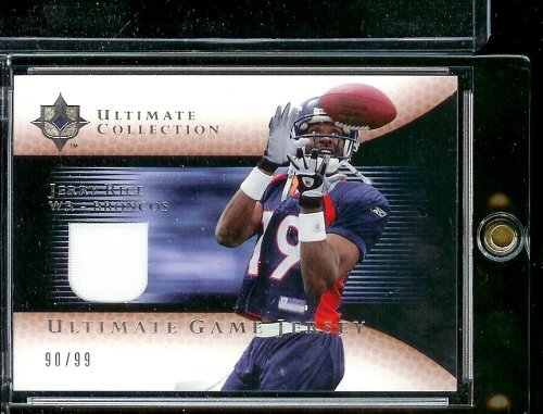 pretty nice a2f0b 12f90 2005 Ultimate Collection Roscoe Jerry Rice Game Jersey 90/99 ...