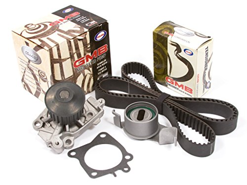 (Evergreen TBK201WP Fits 03-07 Mitsubishi Lancer LS ES OZ Non-Turbo 2.0 4G94 Timing Belt Kit GMB Water Pump)