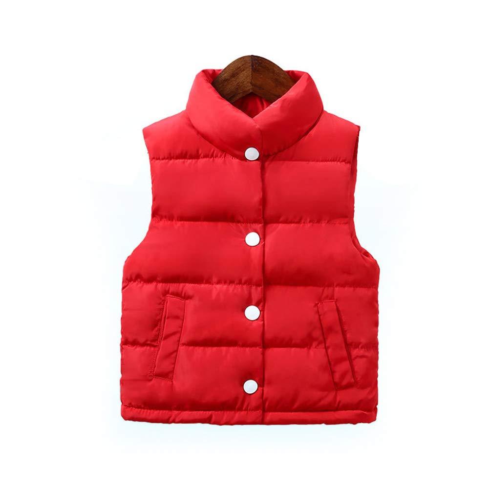LOSORN ZPY Baby Boy Girl Puffer Warm Vest Kids Cute Lightweight Padded Waistcoat Jacket LZ-TZ-840
