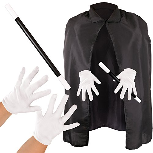 Kangaroo Magician Costume Black ()