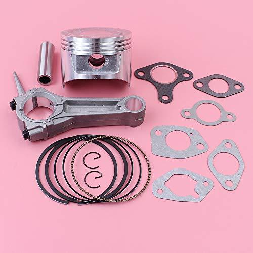Carburetor Piston - Jammas Connecting Rod 88mm Piston Muffler Intake Carburetor Gasket Kit For Honda GX390 13HP GX 390 Engine Part 13101-ZF6-W00