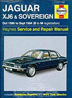 jaguar xj6 workshop manual owners edition 1986 1994 brooklands rh amazon com 1986 Jaguar XJ6 1986 Jaguar XJ6