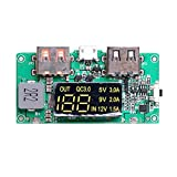 Nrpfell Boost 5V High Pass Qc3.0 Fast Charging Press Board with Digital Power Display Mobile Power Circuit Board