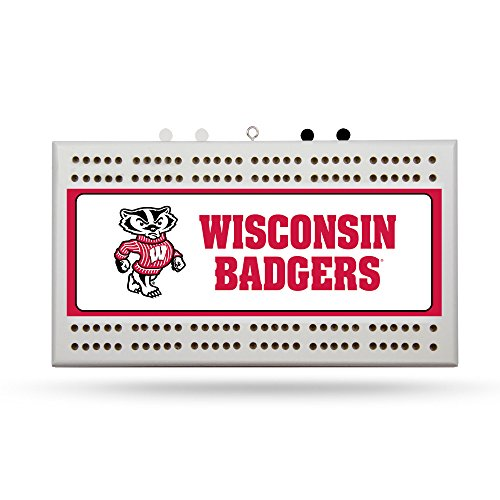 Rico Industries NCAA Wisconsin Badgers Cribbage -