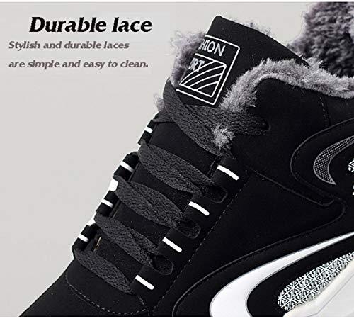 da in in velluto in scarpe Caldi cotone studente invernali sneakers paio pelle bianca e sportivo versione O0xEqwP