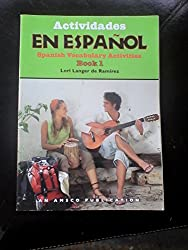 Actividades En Espanol Spanish Vocabulary Activities Book 1