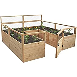 8' x 12' Cedar Raised Garden Bed