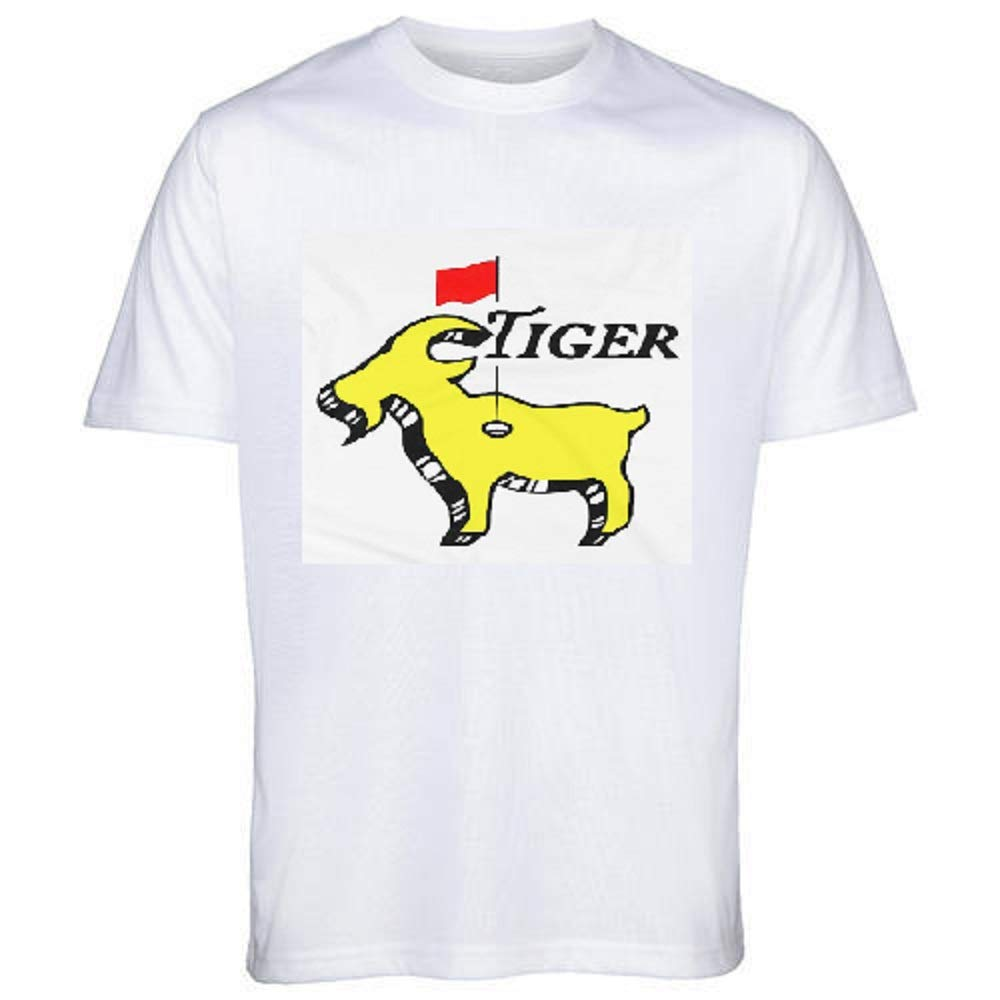 41bb476225eb7 Amazon.com: Tiger Woods Goat Masters Champion Shirt Golf ...