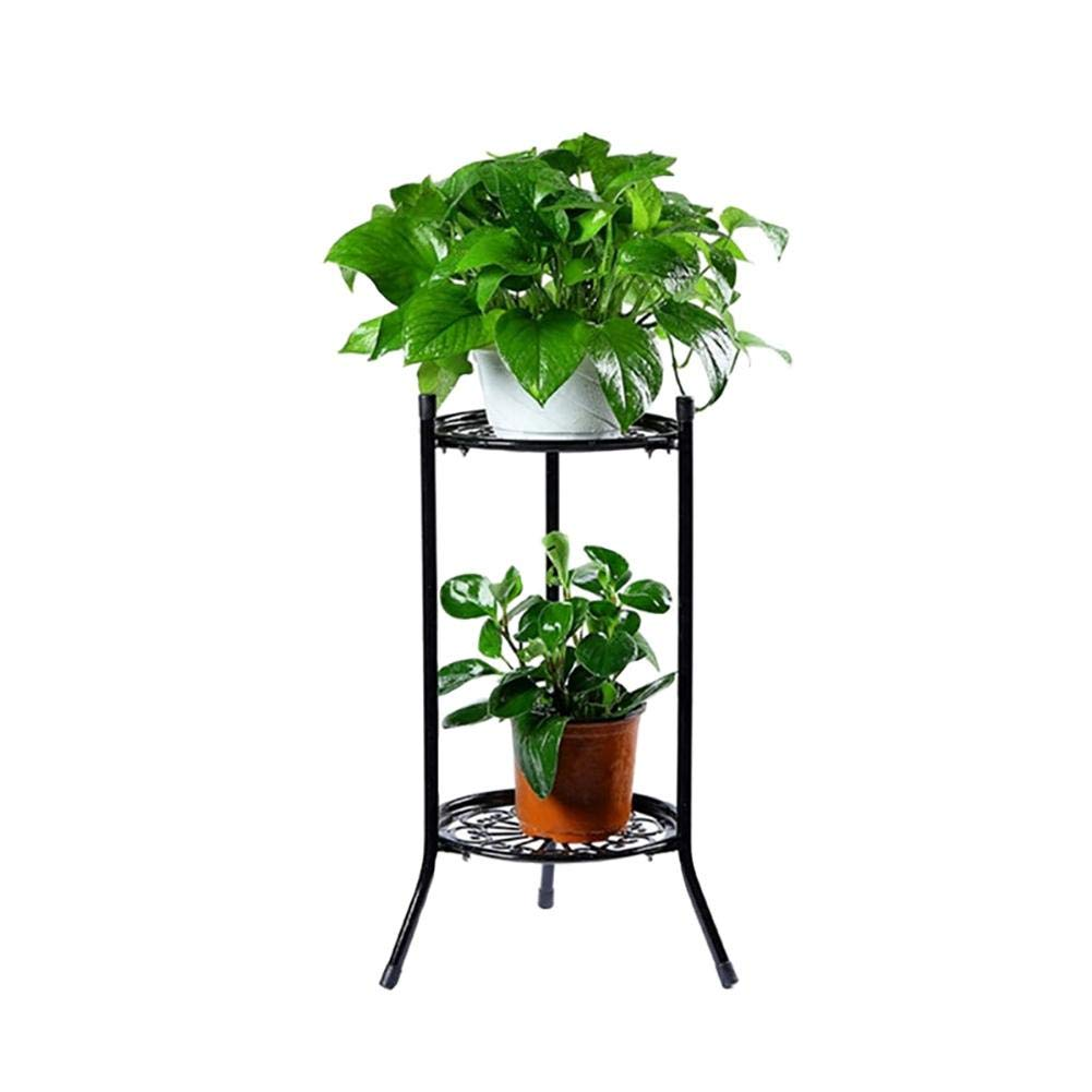 Plant Stand Flower Pot Holder 2 Tiered Scroll Decorative Metal Stands Plant Indoor Flower Pot Rack Display Shelf Holds Outdoor Indoor Balcony Home Decor Buy Online In Mongolia At Mongolia Desertcart Com Productid
