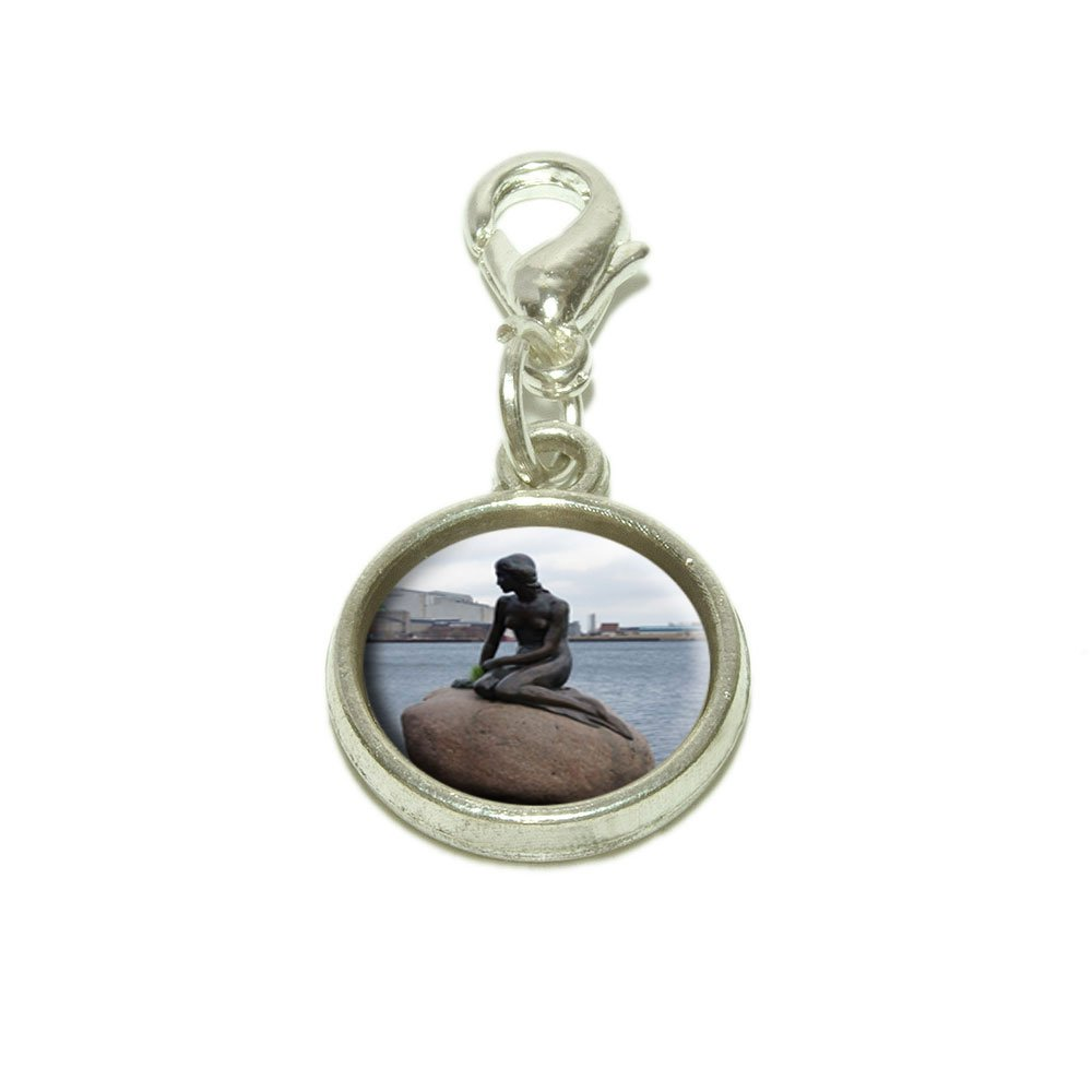 Made On Terra Mermaid of Copenhagen Denmark Dangling Bracelet Pendant Charm