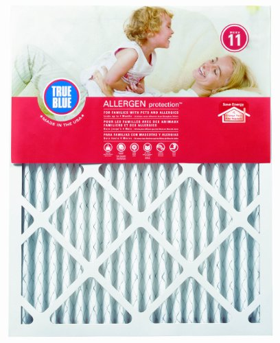 True Blue Allergen 12x25x1 Air Filter , MERV 11, 4-Pack