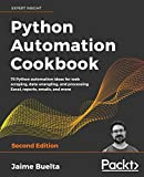 Python Automation Cookbook: 75 Python automation