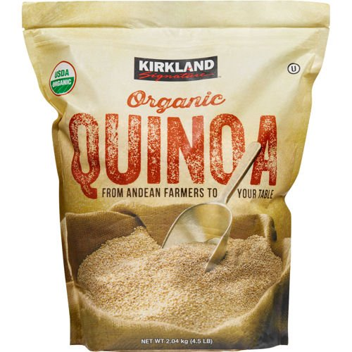 Kirkland Signature Organic Gluten Free Quinoa From Andean Farmers To Your Table   2 04Kg   4 5Lb
